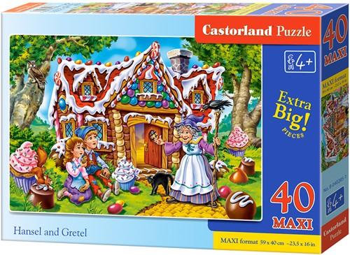 Hansel and Gretel Puzzel (40 MAXI stukjes)