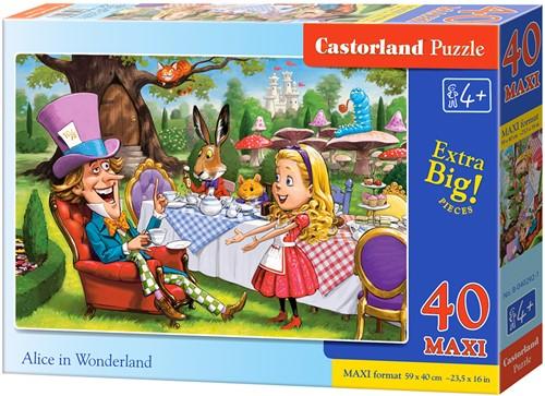 Alice in Wonderland Puzzel (40 MAXI stukjes)