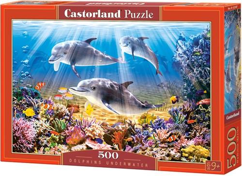 Dolphins Underwater Puzzel (500 stukjes)