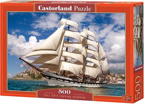 Tall Ship Leaving Harbour Puzzel (500 stukjes)