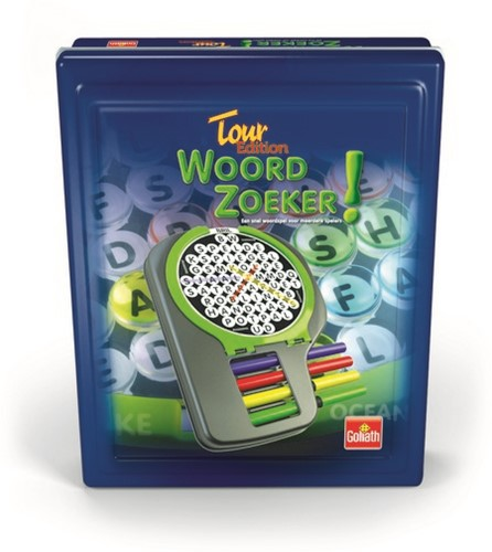 Woordzoeker Tour Edition Tin-2