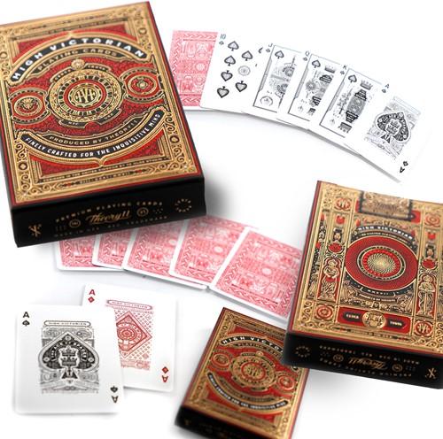 Bicycle Pokerkaarten - High Victorian Red