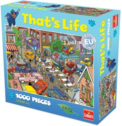 That's Life Puzzel: Verkeers Chaos