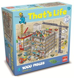 That's Life Puzzel - De Bouwplaats