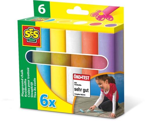SES - Stoepkrijt 6-pack