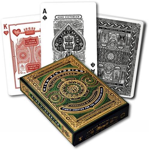 Bicycle Pokerkaarten - High Victorian Green
