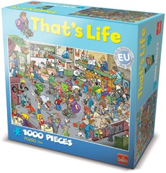 That's Life Puzzel: De Bar