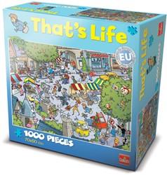 That's Life Puzzel: Het Franse Pleintje