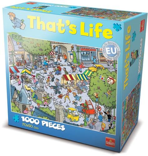 That's Life Puzzel - Het Franse Pleintje