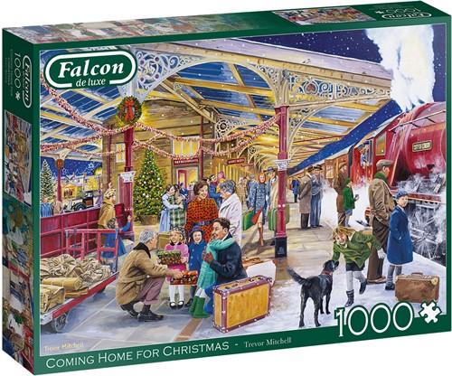 Falcon - Coming Home for Christmas Puzzel (1000 stukjes)
