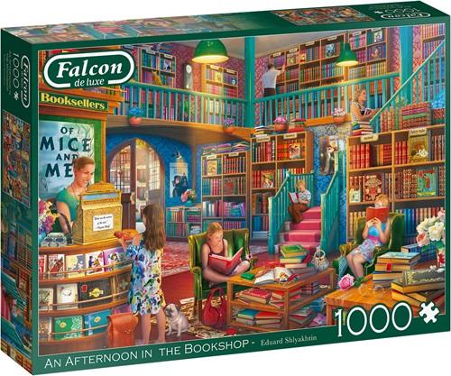 An Afternoon In The Bookshop Puzzel (1000 stukjes)