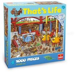 That's Life Puzzel: De Brouwerij