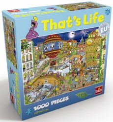That's Life Puzzel: Venetië