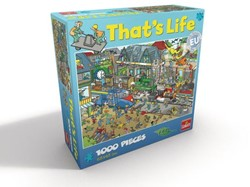 That's Life Puzzel - Trein Station