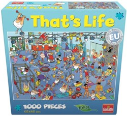 That's Life Puzzel - De Sportschool