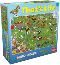 That's Life Puzzel - Melbourne Cup