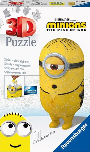 3D Puzzel - Minions Kung Fu (59 stukjes)