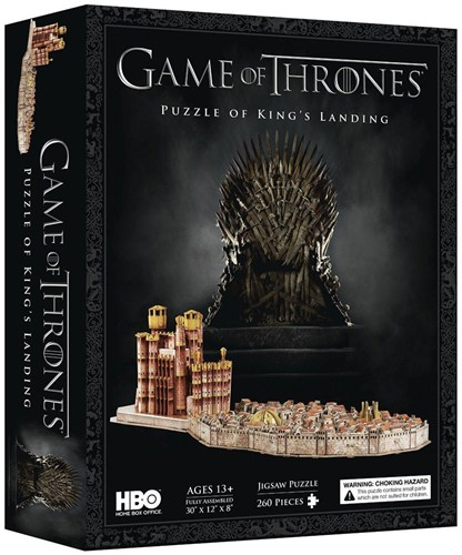 4D Cityscape - Game Of Thrones King