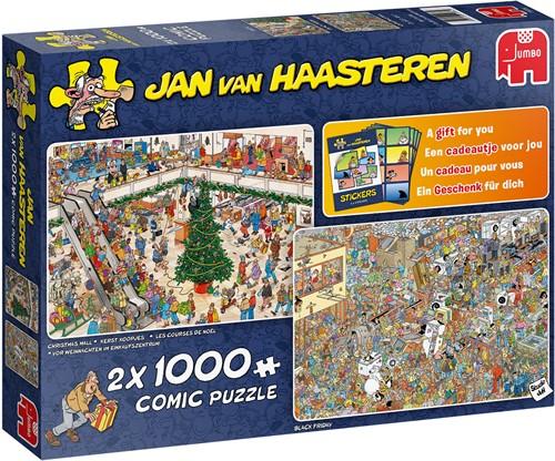 Jan van Haasteren - Holiday Shopping (2x1000 stukjes)