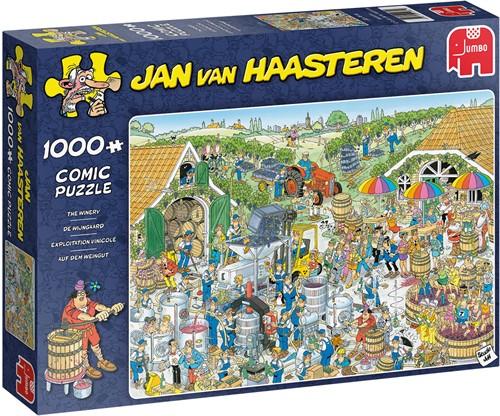 Jan van Haasteren - De Wijnmakerij (1000 stukjes)