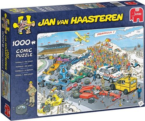 Jan van Haasteren - Formule 1, De Start Puzzel (1000 stukjes)