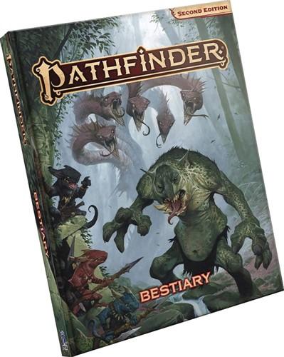 Pathfinder Bestiary 2nd Edition (beschadigd)