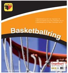 Basketbalring + net (46cm)