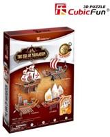3D Puzzel - The Era Of Navigation (75 stukjes)-1