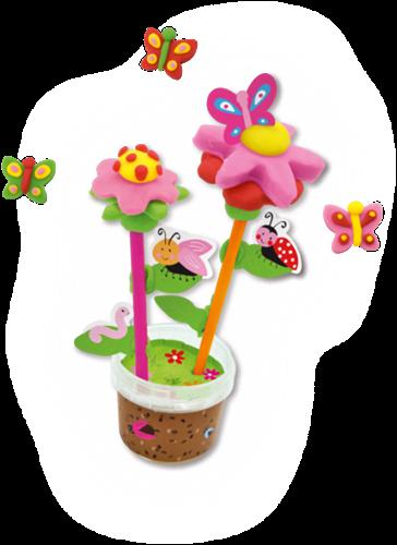 SES - Klei - Geurende Bloemen en Vlinders-2