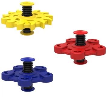 Flip Spinner Rubber - Rood
