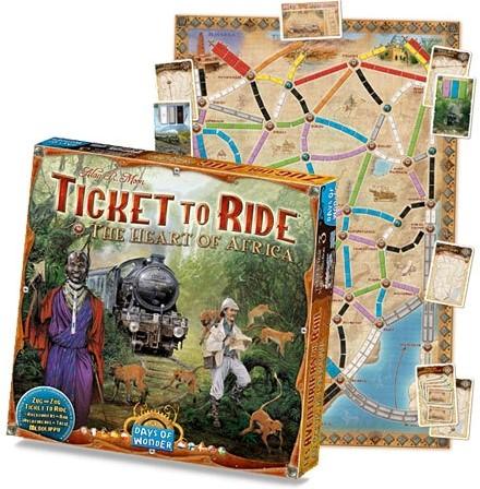 Ticket To Ride - The Heart of Africa Uitbreiding