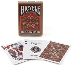 Bicycle Pokerkaarten - Gold Dragon Back