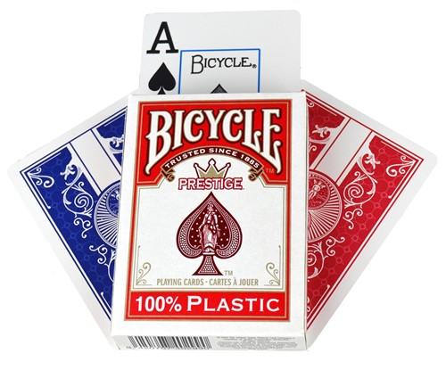 Bicycle Pokerkaarten - Prestige 100% Plastic