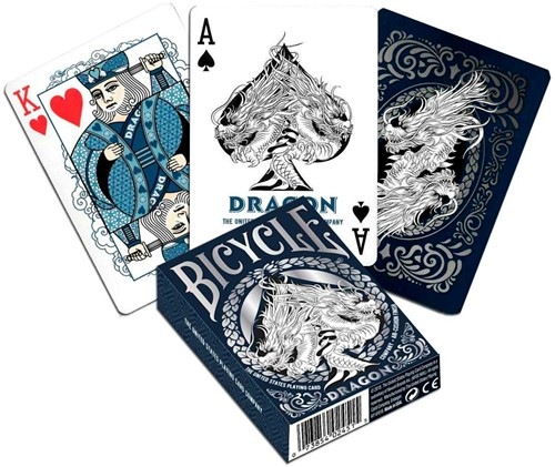Bicycle Pokerkaarten - Dragon Premium