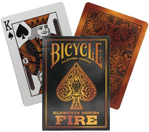 Bicycle Pokerkaarten - Fire Deck