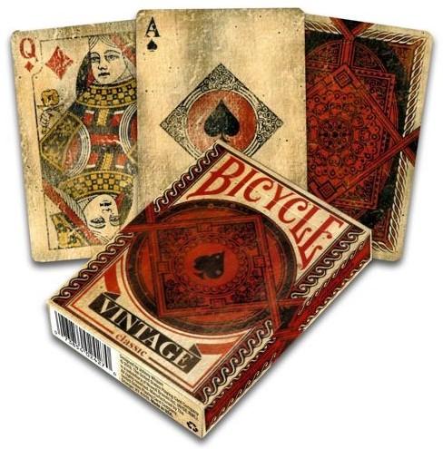 Bicycle Pokerkaarten - Vintage