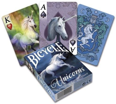 Bicycle Pokerkaarten - Anne Stokes Unicorn Deck