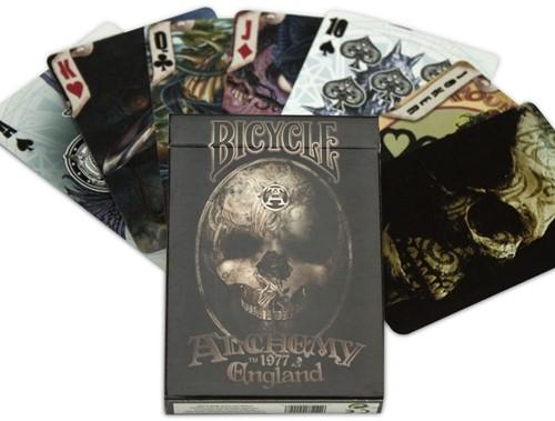 Bicycle Pokerkaarten - Alchemy 2 1977