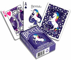 Bicycle Pokerkaarten - Unicorn Deck