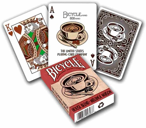 Bicycle Pokerkaarten - House Blend Deck