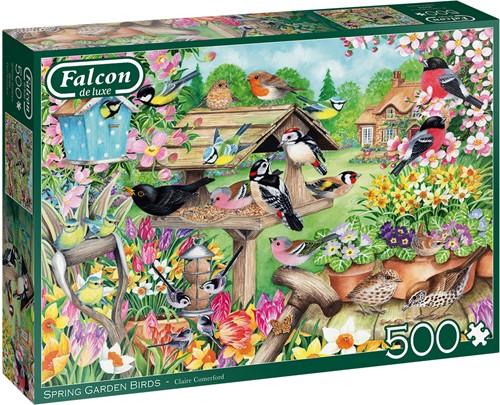 Falcon - Spring Garden Birds (500 stukjes)