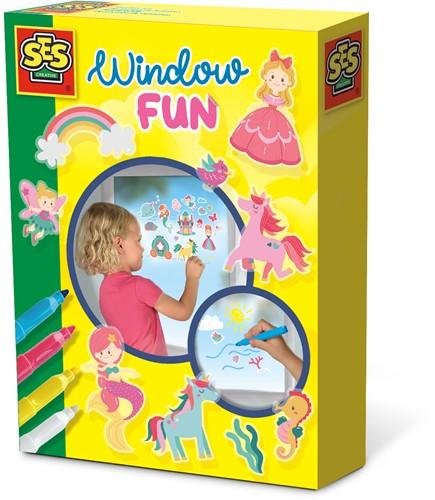 SES - Window Fun Prinsessen