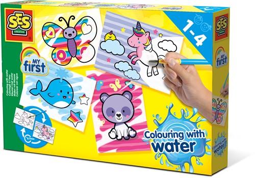 SES - Kleuren met water Fantasie Dieren