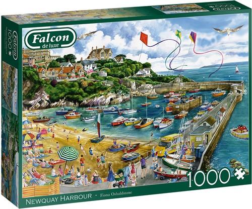Falcon - Newquay Harbour Puzzel (1000 stukjes)