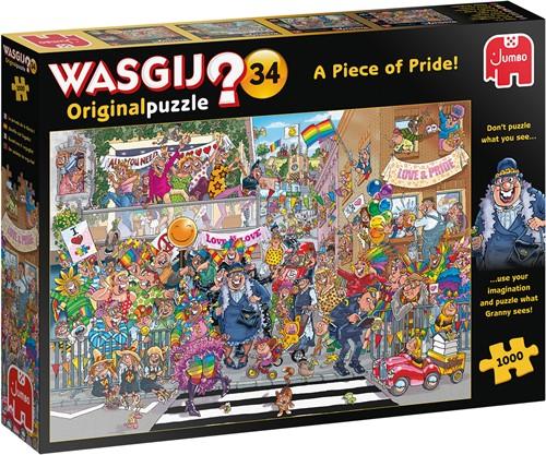 Wasgij Original 34 - Een Stukje Trots Puzzel (1000 stukjes)