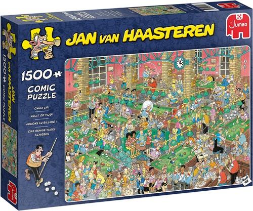Jan van Haasteren - Krijt op Tijd Puzzel (1500 stukjes)