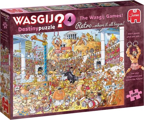 Wasgij Destiny Retro -  De Wasgij Spelen Puzzel (1000 stukjes)