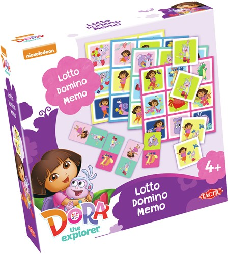 Dora - 3-in-1 Spel
