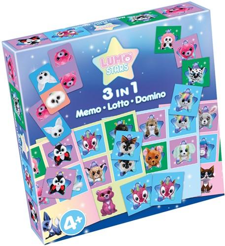 Lumo 3-in-1 - Memo, Lotto, Domino
