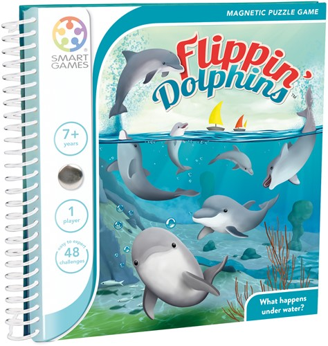 Magnetic Travel Games - Flippin' Dolphins